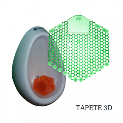 Tapete anti-salpicadura 3D